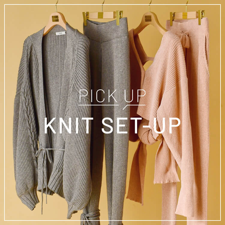 PICK UP KNIT SET-UP