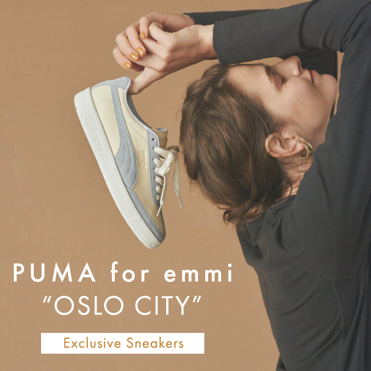 "PUMA for emmi ""OSLO CITY"" Exclusive Sneakers"