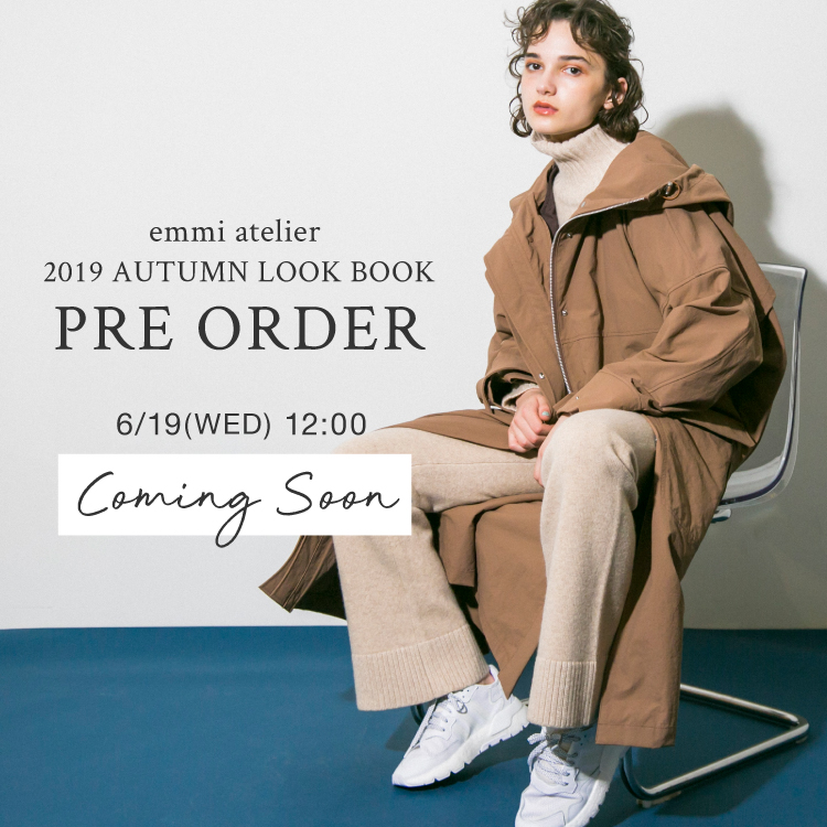 2019 AUTUMN LOOK BOOK PRE ORDER