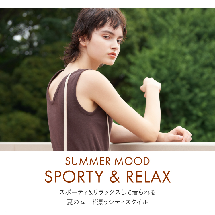 SUMMER MOOD SPORTY & RELAX