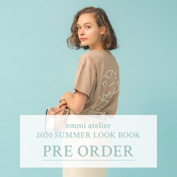 emmi atelier 2020 SUMMER LOOK BOOK PRE ORDER