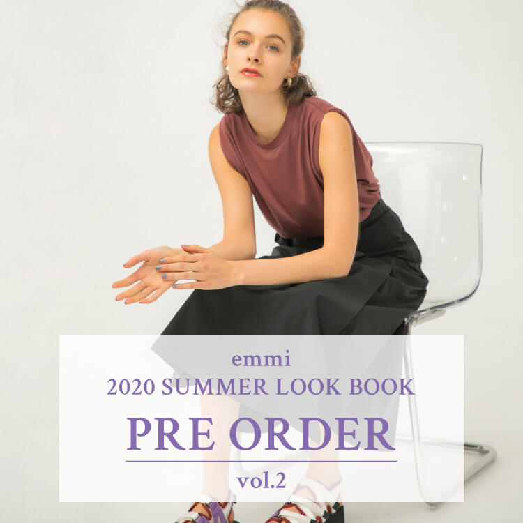 emmi 2020 SUMMER LOOK BOOK PRE ORDER vol.2