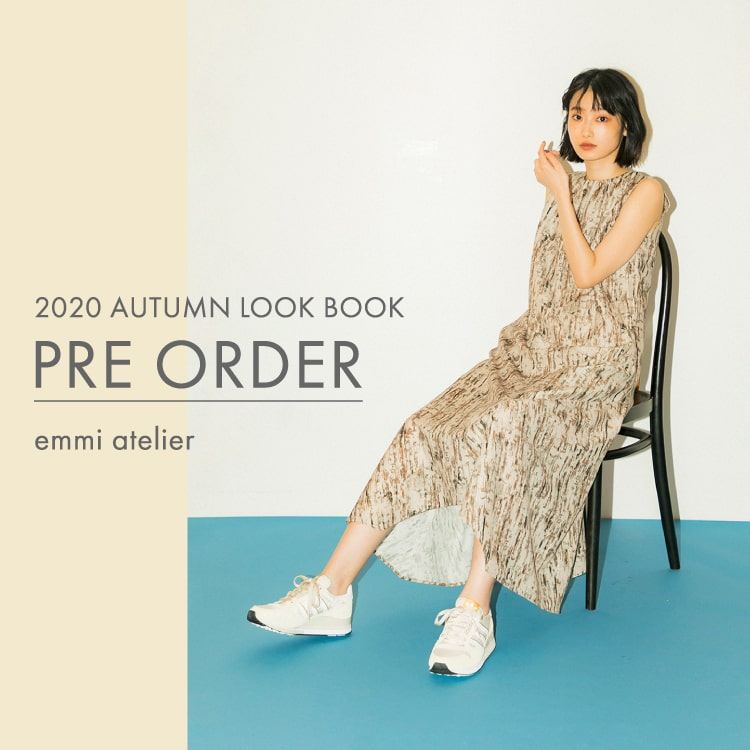 2020 AUTUMN LOOK BOOK PRE ORDER emmi atelier
