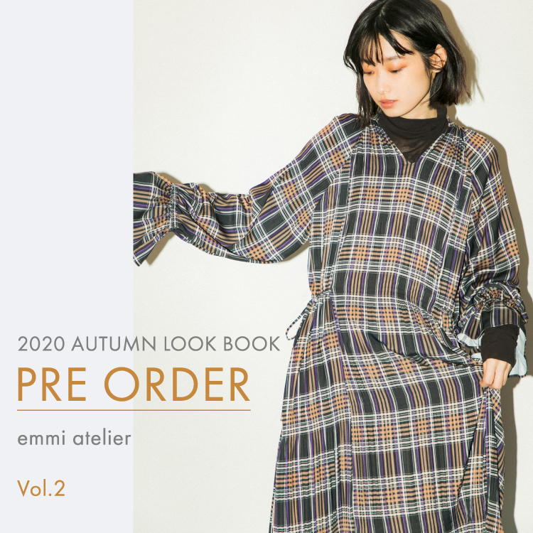 2020 AUTUMN LOOK BOOK PRE ORDER emmi atelier Vol.2