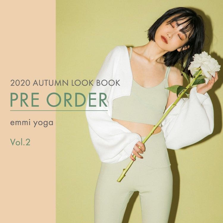 2020 AUTUMN LOOK BOOK PRE ORDER emmi yoga Vol.2