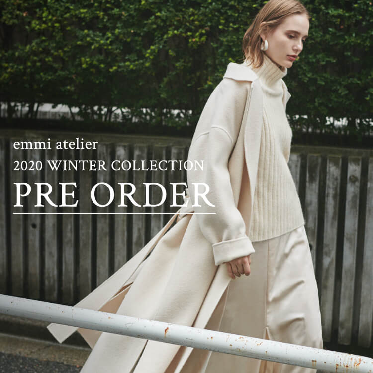emmi atelier 2020 WINTER COLLECTION PRE ORDER