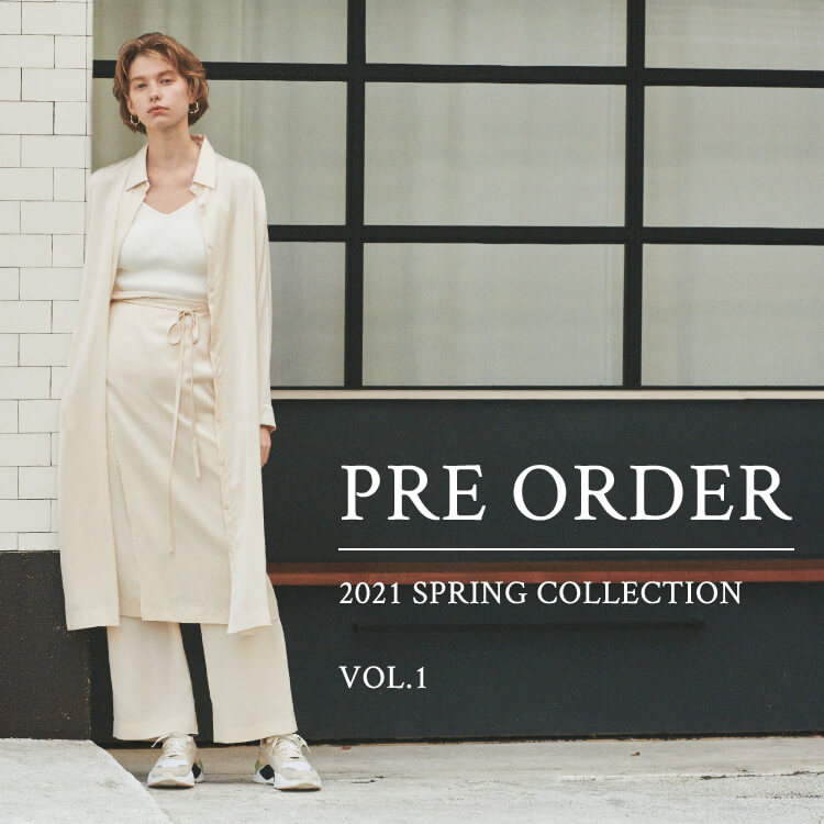 PRE ORDER 2021 SPRING COLLECTION VOL.1