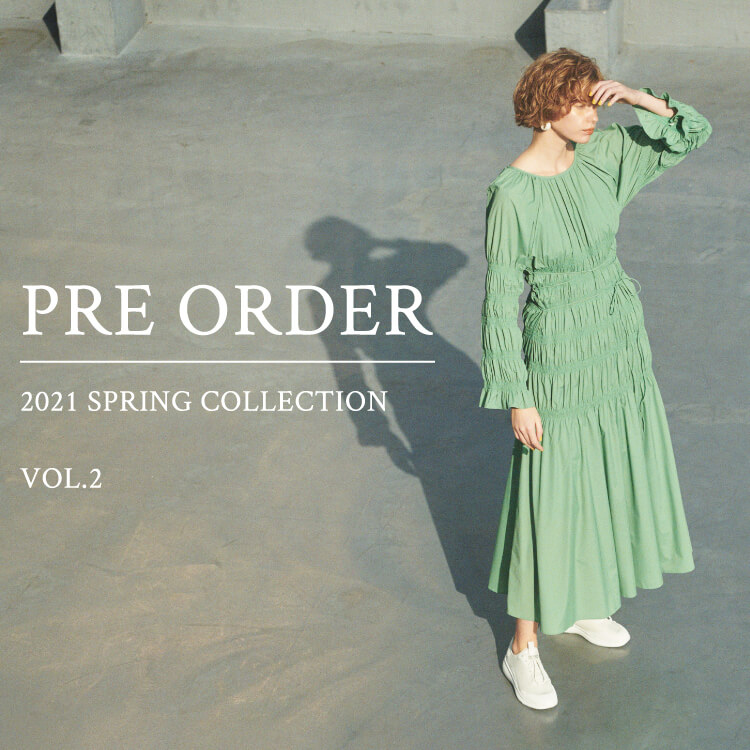 PRE ORDER 2021 SPRING COLLECTION VOL.2