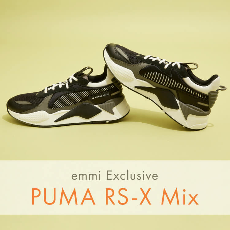 emmi Exclusive PUMA RS-X Mix