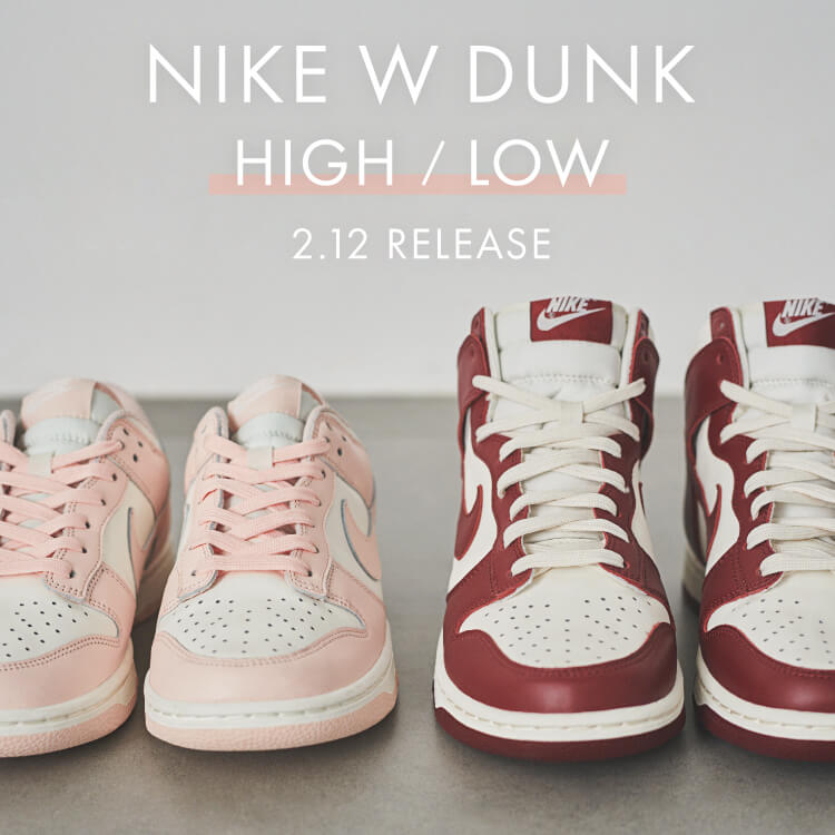 NIKE W DUNK HIGH / LOW