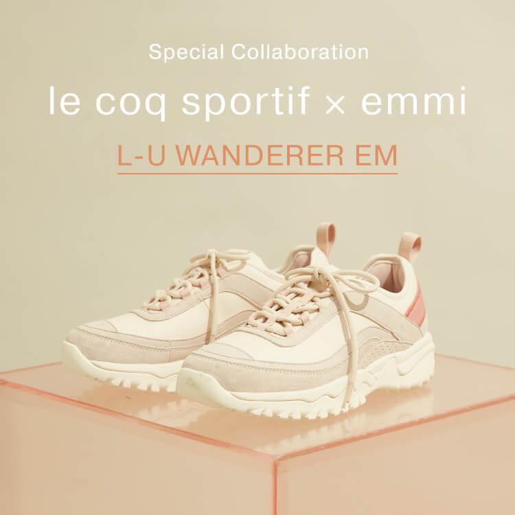 le coq sportif × emmi L-U WANDERER EM