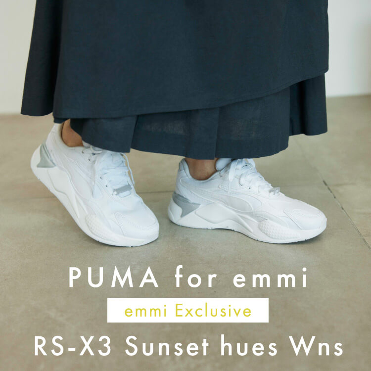 PUMA for emmi emmi Exclusive RS-X3 Sunset hues Wns
