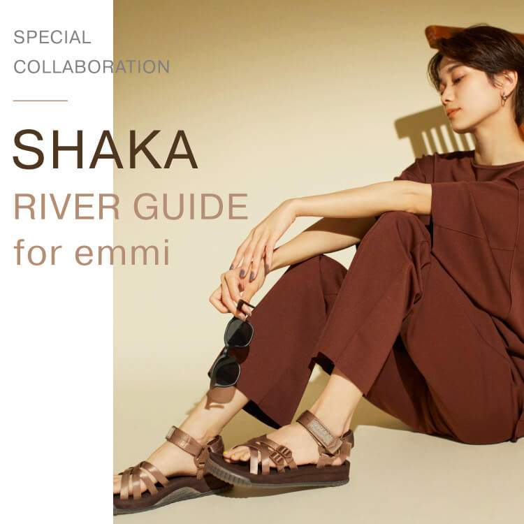 SPECIAL COLLABORATION SHAKA RIVER GUIDEfor emmi