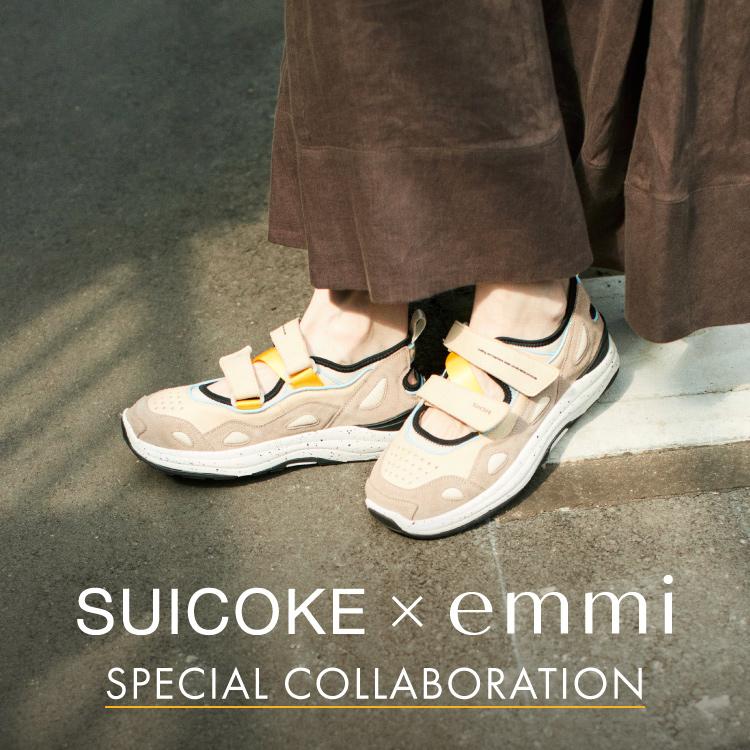 SPECIAL COLLABORATION SUICOKE × emmi AKK-abEMM/emmi
