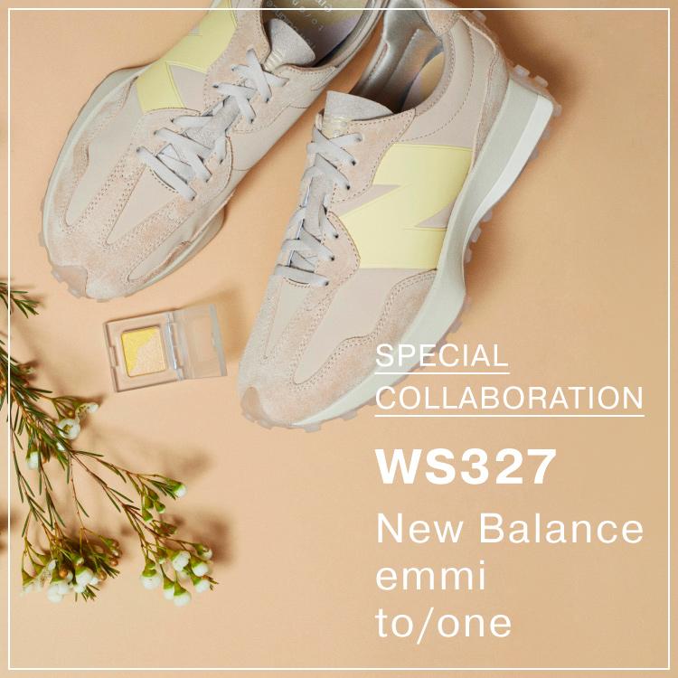 New Balance×emmi×to/one