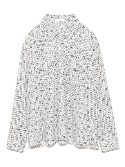 【emmi atelier】マルチハートシャツ