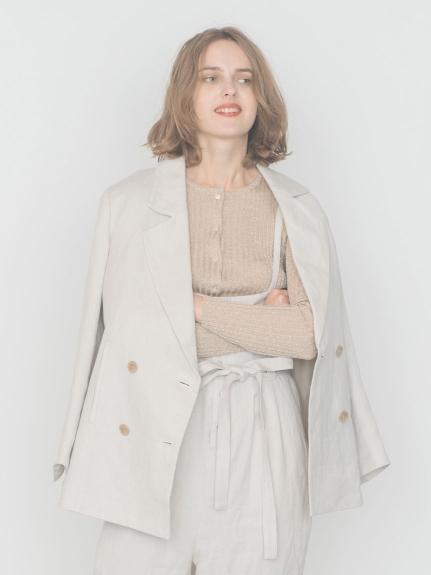【emmi atelier】リネンボキシージャケット
