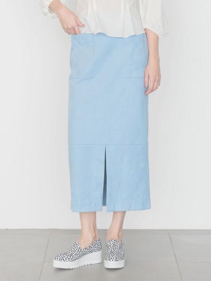 【emmi atelier】エコスウェードIラインスカート