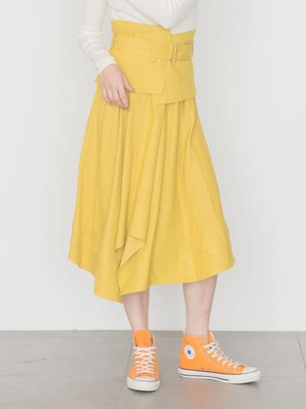 【emmi atelier】コルセットベルトスカート