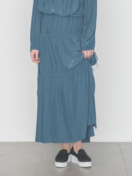 【emmi atelier】ティアードギャザースカート