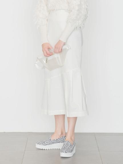 【emmi atelier】切り替えツイルスカート