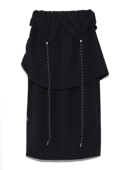 【emmi atelier】ドロストレイヤードスカート