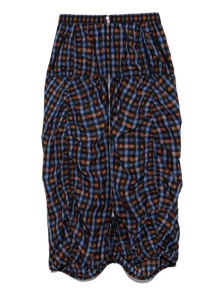 【emmi atelier】デザインギャザースカート