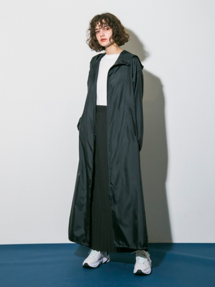 【emmi atelier】プリーツジャンスカ(BLK-0)