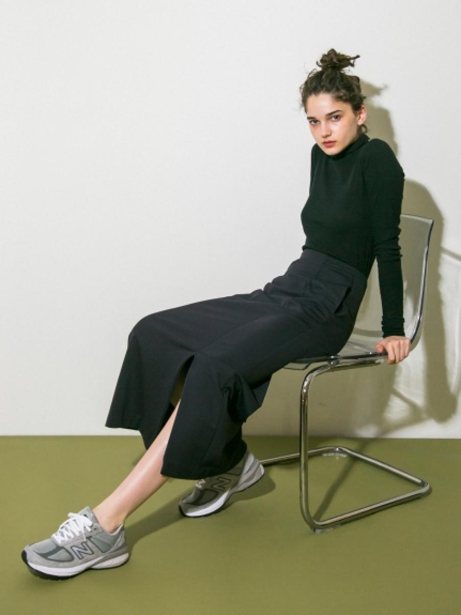 【emmi atelier】ジャージースカート(NVY-0)