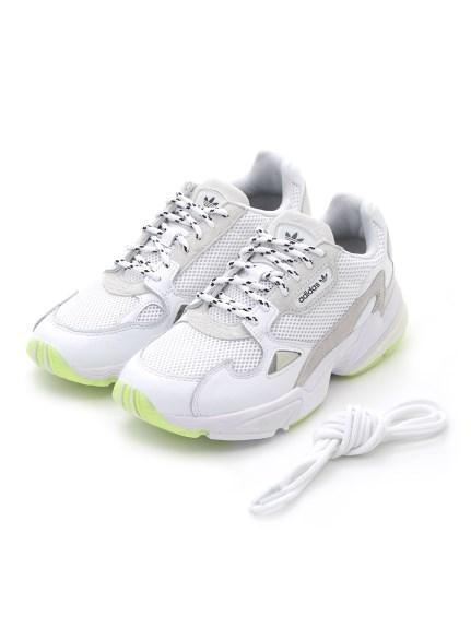 【adidas Originals for emmi】FALCON(WHT-22.5)