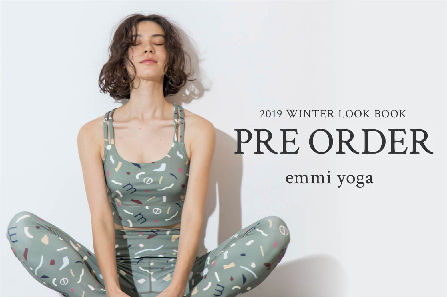 2019 WINTER LOOK BOOK PRE ORDER emmi yoga