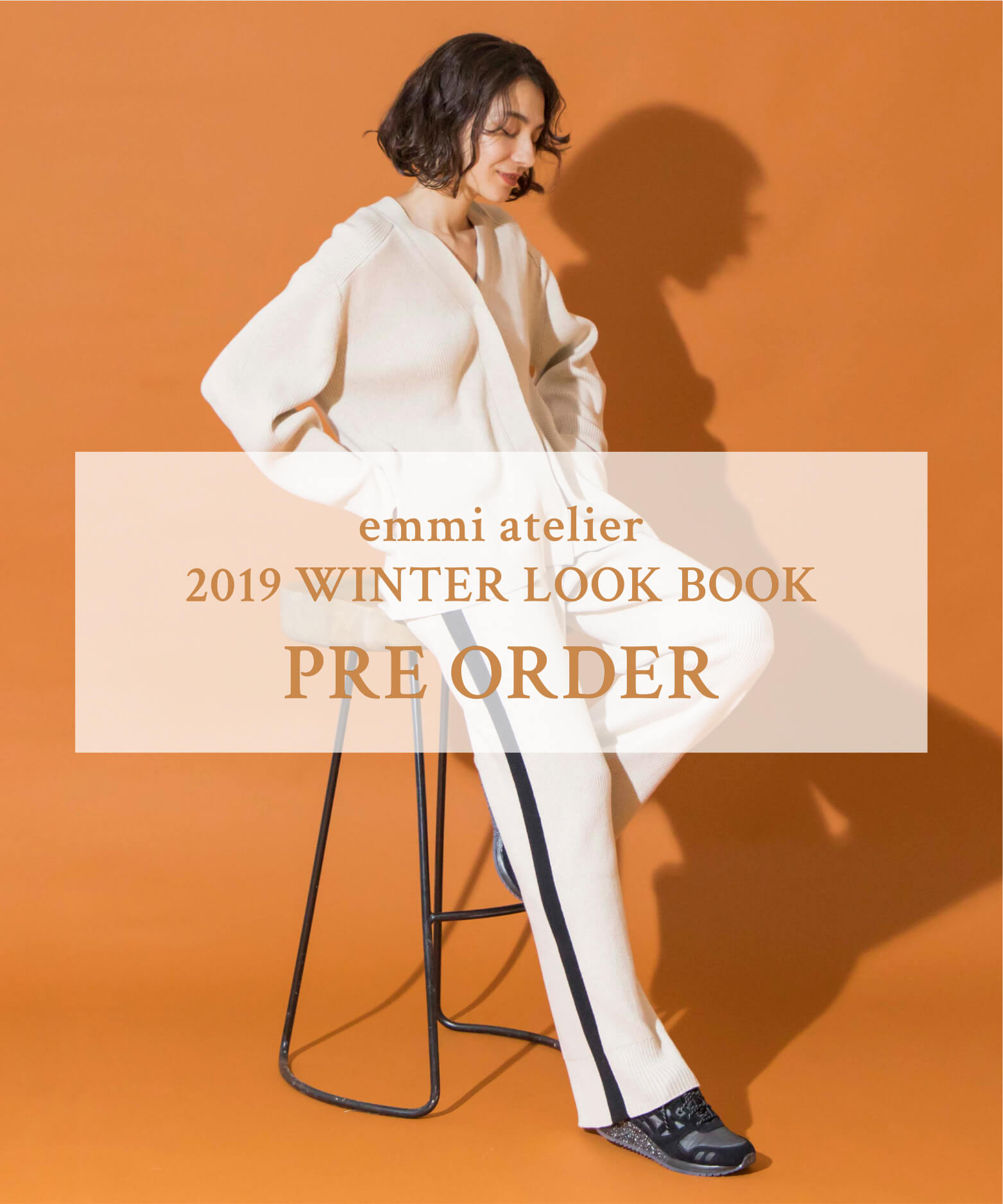 emmi atelier 2019 WINTER LOOK BOOK PRE ORDER