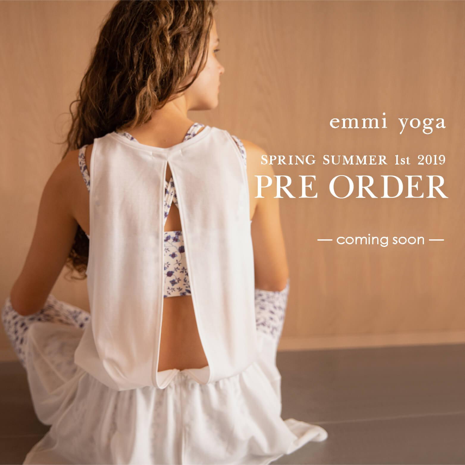 2019ss preorder yoga