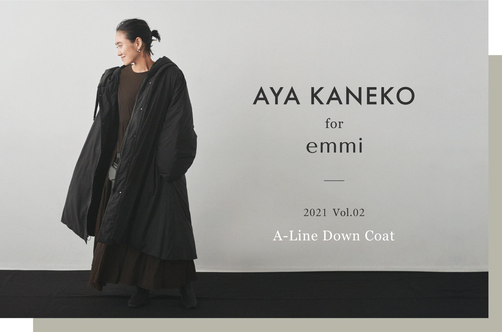AYA_KANEKO for emmi