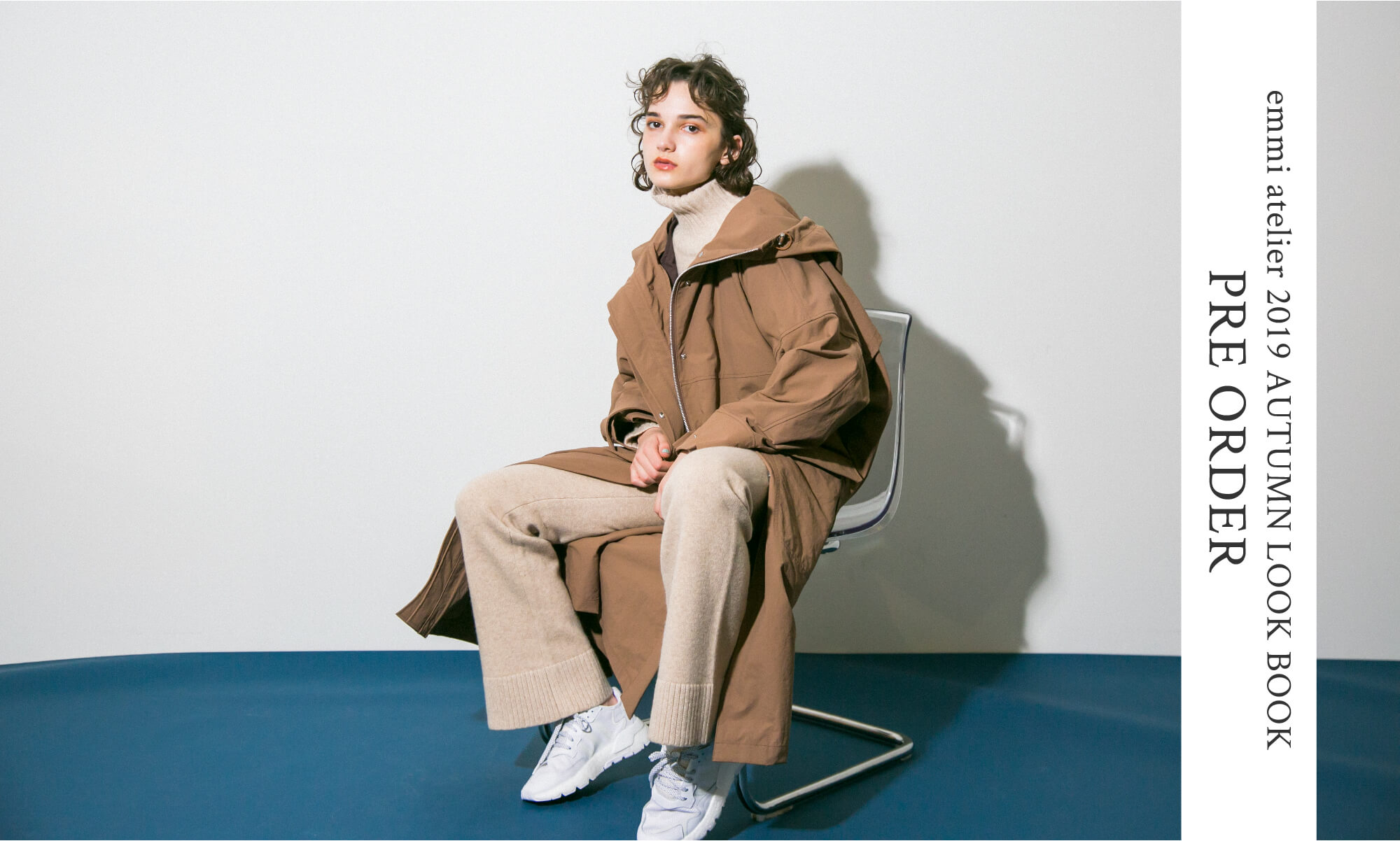 emmi atelier 2019 AUTUMN LOOK BOOK PRE ORDER